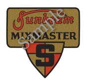 old vintage mixmaster logo decal