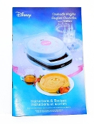 VillaWare Model 55200 Disney Waffle Maker Manual (Download)