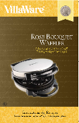 VillaWare Rose Bouquet Waffler Manual (Download)