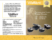 VillaWare Model 3100 Heart WafflerWaffle Maker Manual (Download)