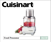 Cuisinart DLC-XP Food Processor Manual (Download)