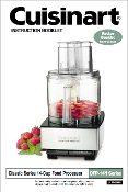 Cuisinart DFP-14N Food Processor Manual (Download)