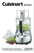 Cuisinart MP-14N Food Processor Manual (Download)