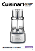 Cuisinart FP-11 Series Food Processor Manual (Download)