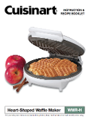 Cuisinart WMR-H Heart Shape Waffle Maker Manual (Download)