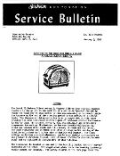 Sunbeam Model T9 Toaster Service - Repair Manual Download