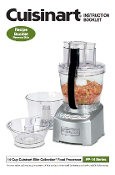 Cuisinart FP-14DC Food Processor Manual (Download)