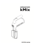 Kenwood Kmix Model HM790 Mixer Manual (Download)
