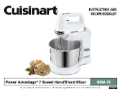 Cuisinart HSM-70 Hand-Stand Mixer Manual Download