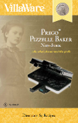 VillaWare Model 3600 Prego Pizzelle Baker Manual Download