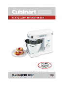 Cuisinart SM-55 Stand Mixer Manual Download
