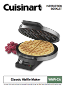 Cuisinart WMR-CA Classic Waffle Maker Manual Download