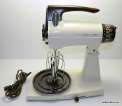 Sunbeam Mixmaster Model 1-7A Mixer - Refurbished, White