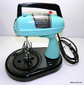 Dormeyer Mixer Model SM-6 Mixwell- Turquoise