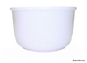 Dormeyer Mixer Bowl Milk Glass - Small Bowl