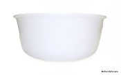 Dormeyer Mixer Bowl Milk Glass - Large Bowl
