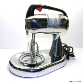 Dormeyer Model 4300 Silver Chef Mixer - Chrome