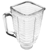 Oster 5 Cup Glass Square Top Blender Jar