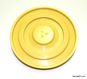 Sunbeam Mixmaster Turntable Fits 1-7A, MMB, etc... - Yellow