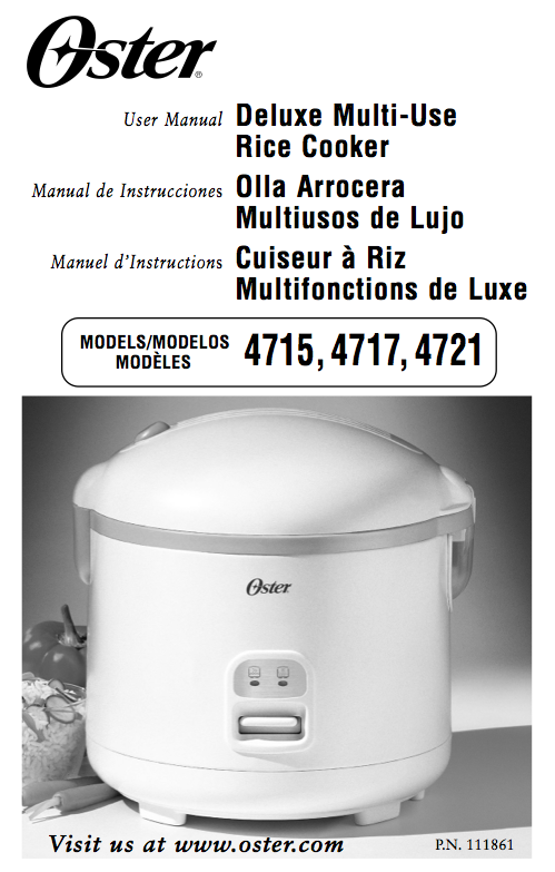oster model 4715 4717 4721 rice cooker manual download rh nelsonezy com oster rice cooker manual ckstrcms65 oster rice cooker manual 4751